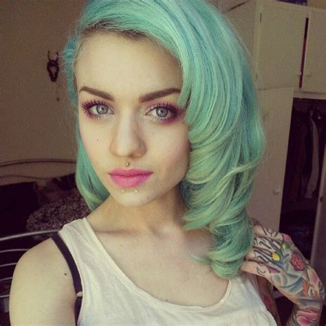 Green Pastel Hair Ben Rogers Blog