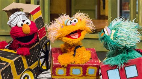 In the episode how the test was won, clancy's son ralph finds a rat and says i'm playing with elmo. Sesame Street Season 49 Episode 4912 - Elmo's Happy Little ...