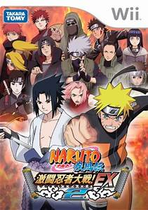 Used Wii Naruto Shippuden Gekitou Ninja Taisen Ex2 Without