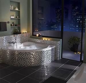 installer un spa dans votre salle de bains travauxcom With salle de bain design avec décoration patisserie orientale