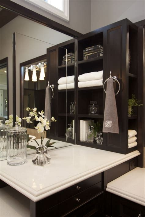 Stylish Transitional Master Bathroom Robeson Design