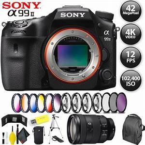 Sony Alpha A99 Ii Dslr Camera   Sony Fe 24