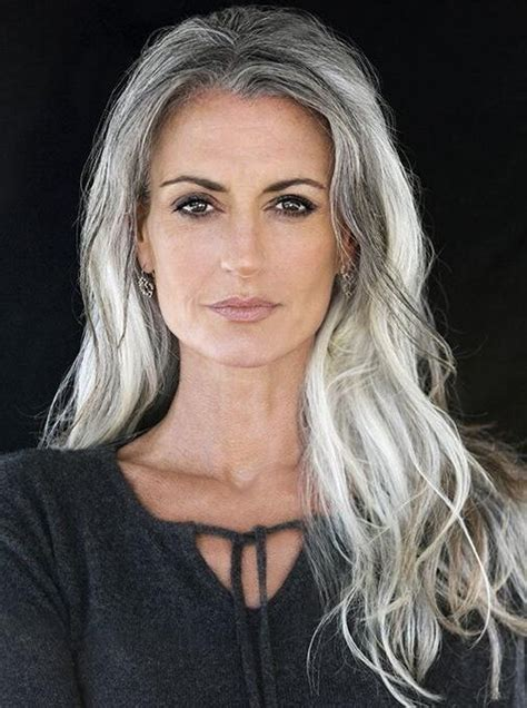 15 Inspirations Of Long Hairstyles For Gray Hair