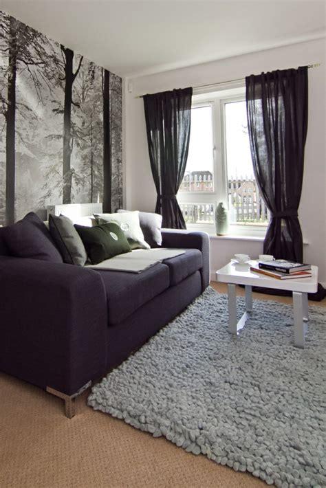 Schwarze Tapete Wohnzimmer by Gardinen Wohnzimmer Ein Accessoire Mit Vielen Funktionen