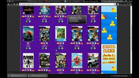 2_ahora los juegos que se descargan via torrent los buscas aca en la categoria de wii. DESCARGAR JUEGOS EN WBFS PARA WII