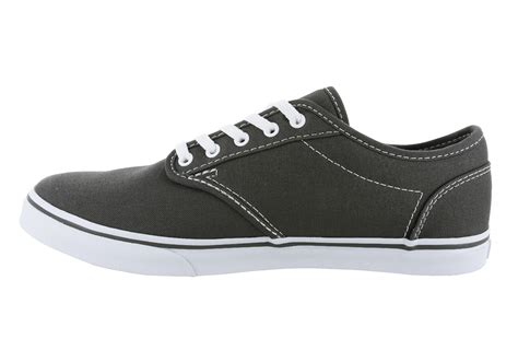 Womens Vans Atwood Low Canvas Gray/white
