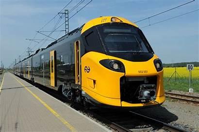 Ns Icng Trein Treinen Nieuwe Intercity Direct