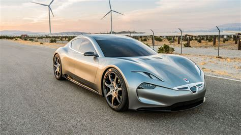 Electric Car by Fisker Picks Ces For New Electric Car Reveal The Verge