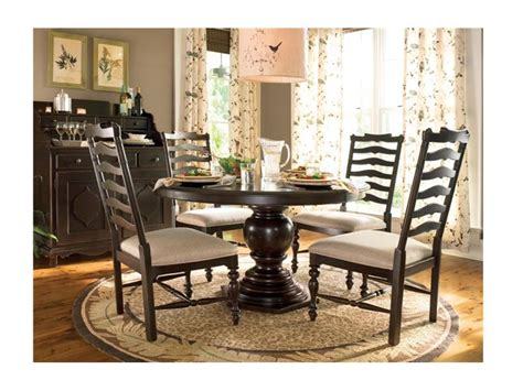 paula deen by universal dining room pedestal table