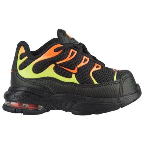 nike air max  boys toddler casual shoes black