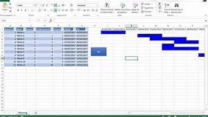 Diagramme De Gantt Avec Excel - Les Bases
