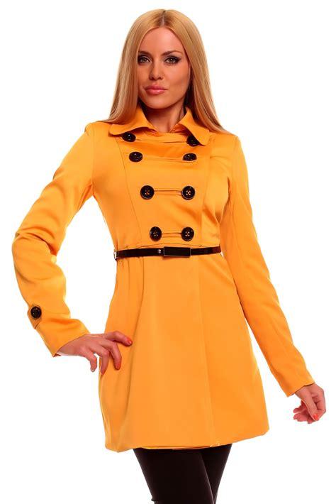 schicker mantel damen schicker damen trenchcoat mantel kurzmantel jacke blazer 4 farben ebay