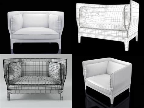 Poltrona Frau 3d Models Free : Armchairs Poltrona-frau 3d Model