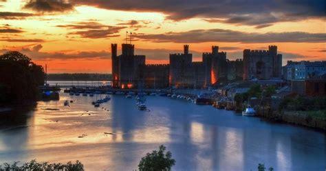 castles  town walls  king edward  gwynedd unesco