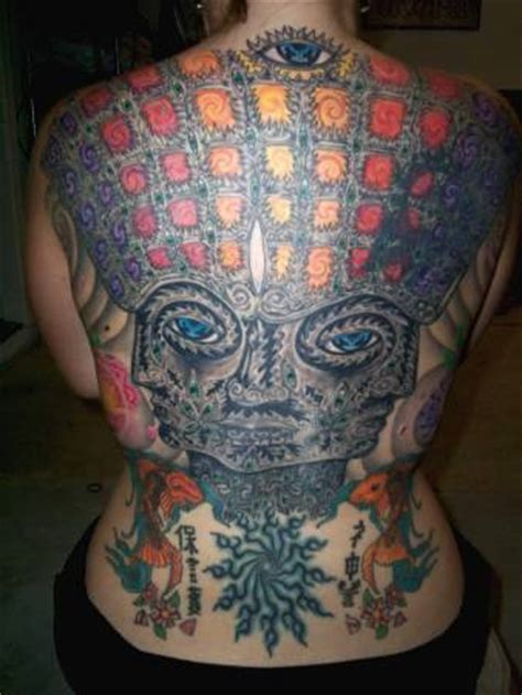 incredible alex grey tattoos