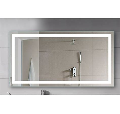 vanity lighted mirror wall mount dressing room led