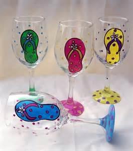 Painting Wine Glasses Ideas