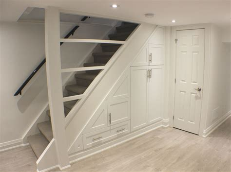 Basement Storage Units Toronto Basement Staircase Storage