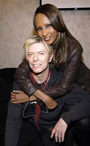 Iman Remembers David Bowie As Birthday and One-Year ...