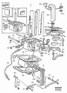 1993 Volvo 960 Gear Shift Lever Knob  Gearshift  Control