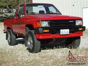 1986 Toyota Truck Pickup 4x4 19 980 Original Miles