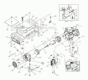 Generac 4000xl Parts List And Diagram