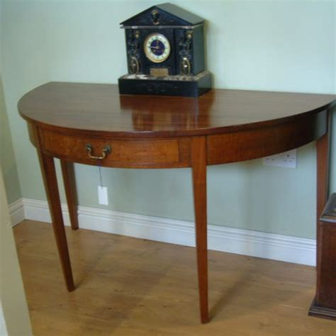 table ronde demi lune mahogany demi lune table antiques atlas