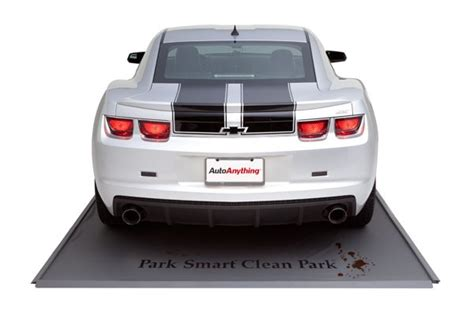 Garage Floor Containment Mats Canada by Park Smart Heavy Duty Parking Mats Garage