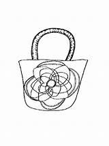 Mycoloring Handtasche Ausmalbilder sketch template