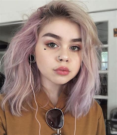 bunte haare a lillpsycho hair in 2019 pastellrosa haare