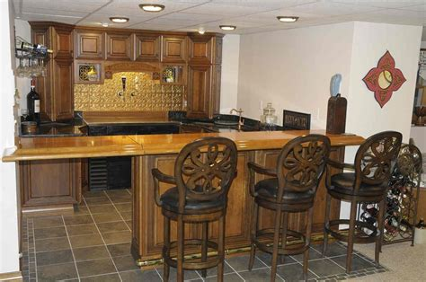 handmade custom bar  cherry wood bar top  property vision llc custommadecom