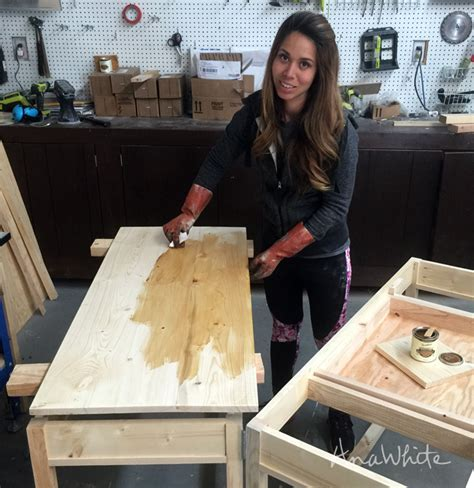 ultimate wood staining guide ana white woodworking projects