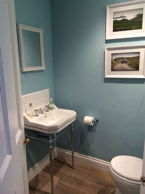 farrow and bathroom ideas blue ground farrow and in cloakroom en suite in