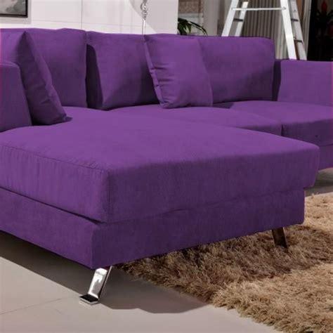 canapé violet convertible photos canapé violet