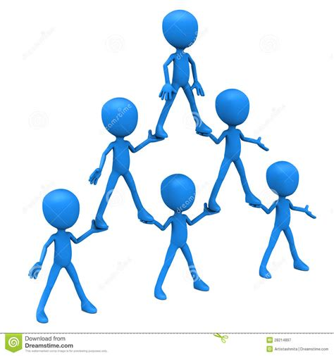 hierarchie cuisine human pyramid hierarchy royalty free stock photography