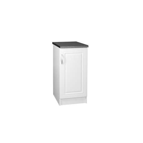meuble cuisine 30 cm de large meuble bas de cuisine dina 30 cm 1 porte 1 étagère