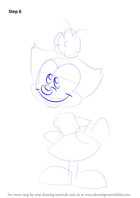 learn   draw dot  animaniacs animaniacs step
