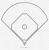Baseball Field Coloring Diamond Drawing Pngfind Clipart sketch template
