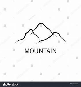 Mountain Abstract Logo Stock Vector 609615359 - Shutterstock
