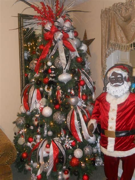 zebra christmas tree decor ideas christmas