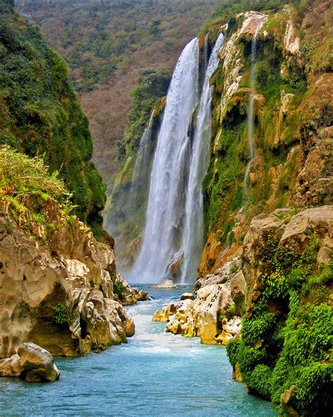 Cascada De Tamul La Huasteca Potosina Wonderful Place