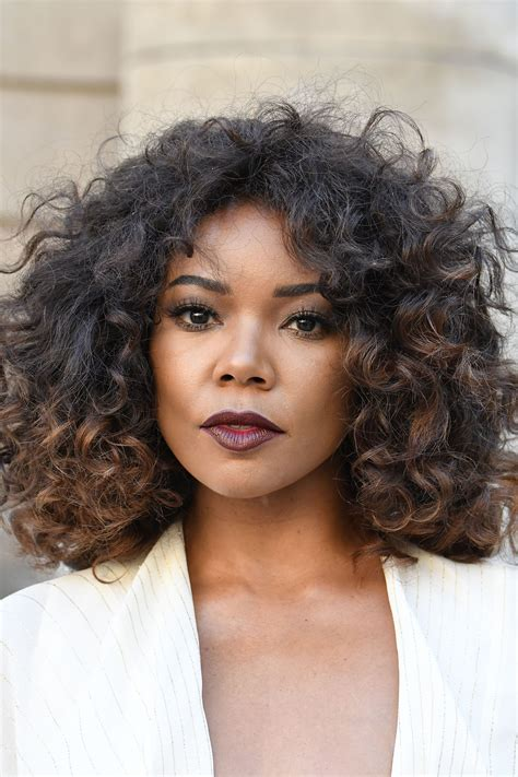 times gabrielle union   hair goals naturally curly curly hair styles hair styles