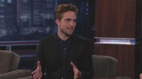Robert Pattinson Talks Cars, Gay Sex Raids, Prostate Exams ...