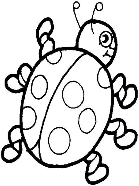 awesome lady bug coloring page color luna