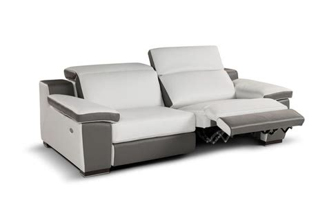 Contemporary Sofa Recliner by Contemporary Leather Recliner Sofa Jagger 835 Caliaitalia