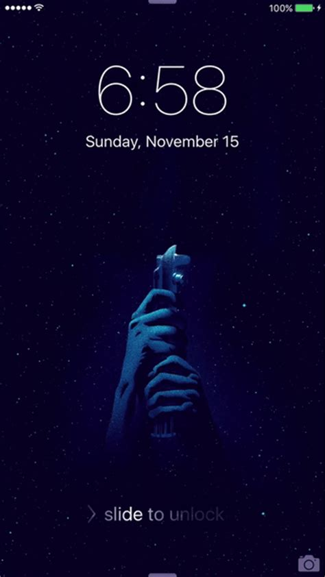 Animated Wallpaper For Iphone - i made a custom iphone live wallpaper starwars