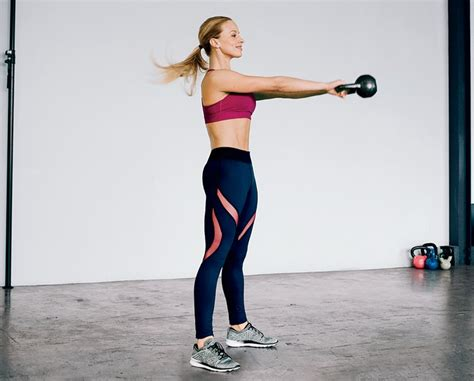 kettlebell swing beginners workout fat belly lose