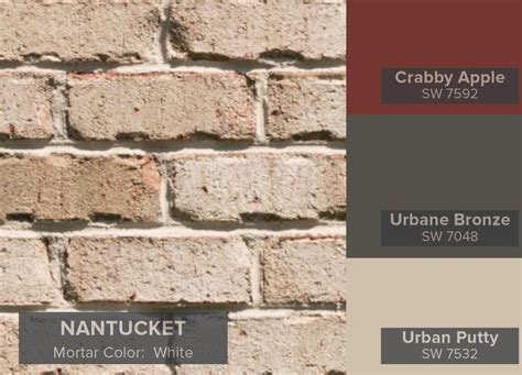 most popular general shale brick colors nantucket brick