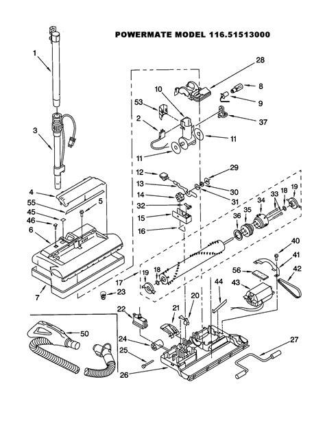 Electrolux Vacuum Wiring Diagram by Electrolux 2100 Parts Diagram