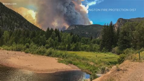 colorado fires large wildfires burn statewide fire ban